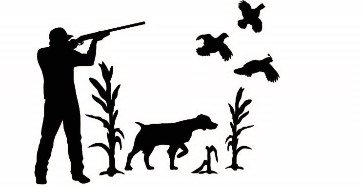 Silhouette Hunting Decals Amp Stickers Hunting Dogs