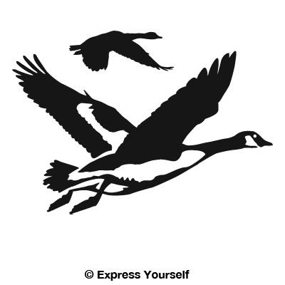 Car Decal Ideas >> Gathering Geese Decal