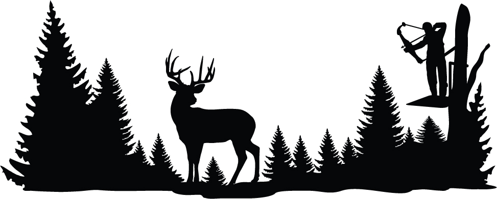 Clear Shot Whitetail Deer Wall Decal