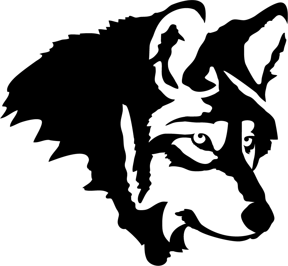 Wolf Profile Wall Decal