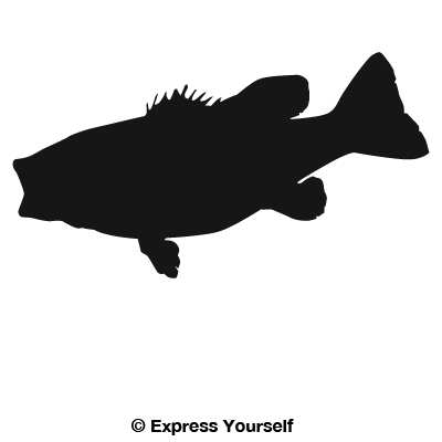 Small Mouth Bass Decal