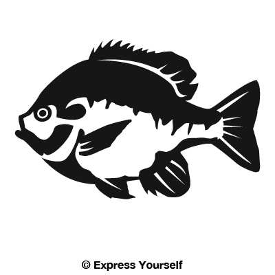 Bluegill 2 Decal