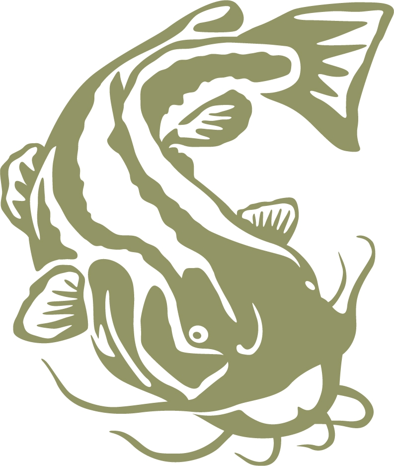 Cat Fish Clipart Black And White