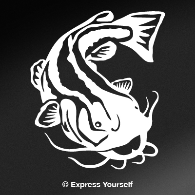 Flathead Catfish Decal