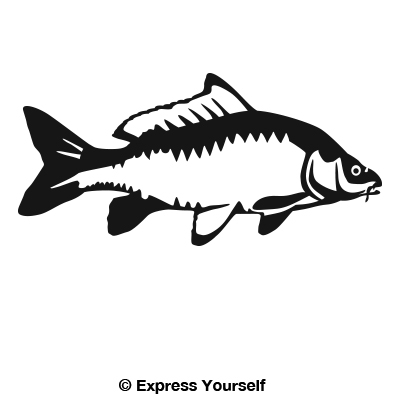 The gallery for --> Carp Silhouette
