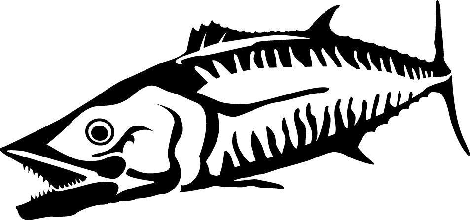Mackerel Wall Decal