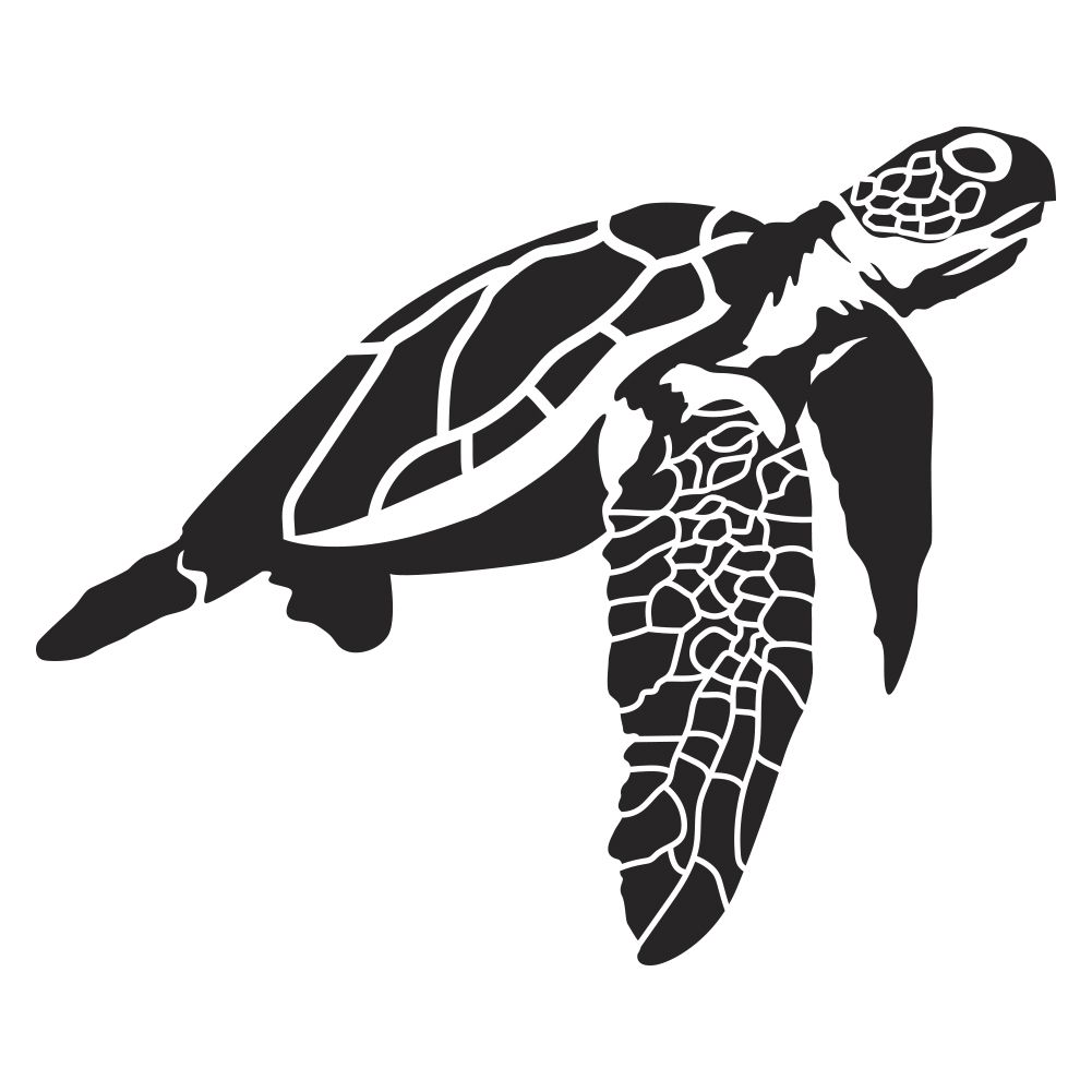 Sea turtle wall decal amipublicfo Gallery