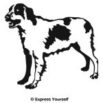 Brittany Spaniel 2 Decal