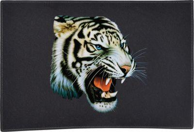 & White Tiger Door Mat