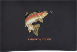 Rainbow Trout Combo Door Mat