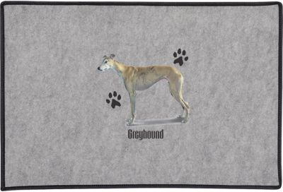 Greyhound Door Mat