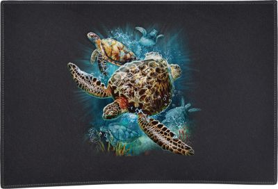 Turtle Kingdom Ii Door Mat