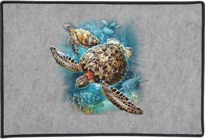 Turtle Kingdom Ii Door Mat