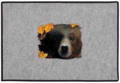 Contemplation Grizzly Beardoor Mat