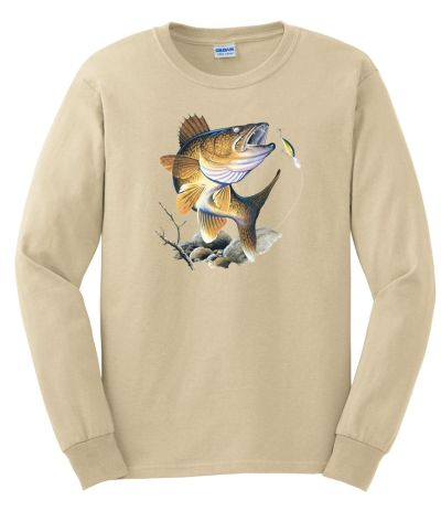 Walleye Long Sleeved Tshirt