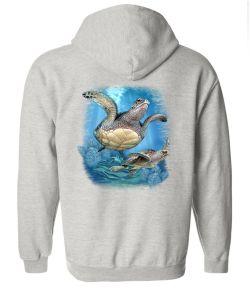 Turtle Zip up sweatshirt