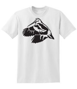 Woodcock in Flight 50/50 Tee
