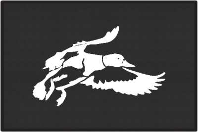 Landing Zone Duck Silhouette Door Mats