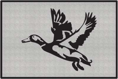 Landing Zone 2 Duck Silhouette Door Mats P94610 also Wild animal clip art furthermore Goose Hunt Layout Blind Decal P129796 in addition Animal footprints likewise Wel e 2 Techno Wolf. on deer prints