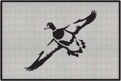 sc 1 st  Ident-I-Card Company & First Look Duck Silhouette Door Mats