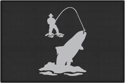 Alfa img - Showing > Fly Fishing Trout Silhouettes