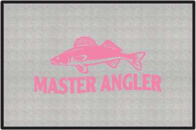 Master Angler Walleye 2 Silhouette Door Mats