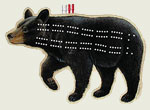 Black Bear Cribbage Board
