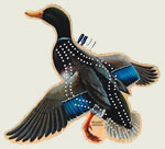Mallard Duck Cribbage Board