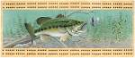 Bass Scene Cribbage Board