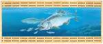 King Salmon Scene Cribbage Board