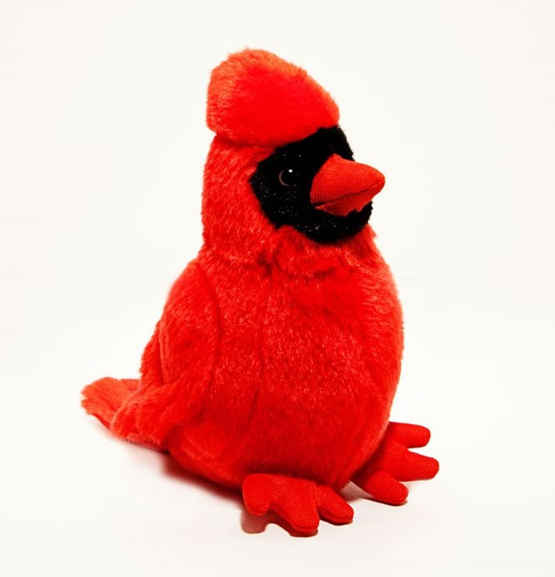Cardinal 6 Inch Stuffed Animal