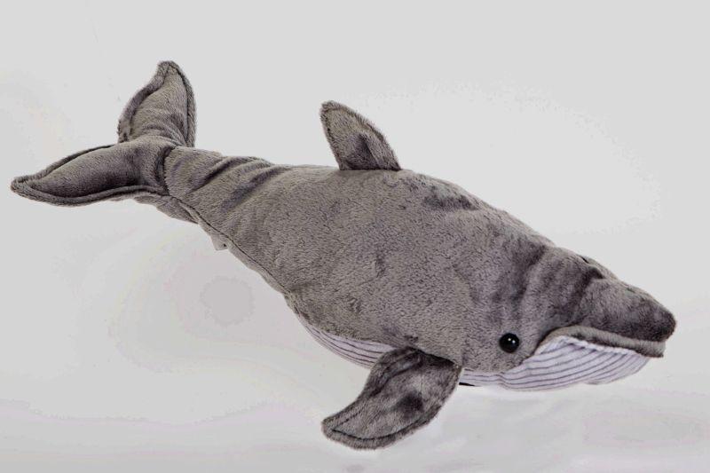 humpback whale 17 inch stuffed animal