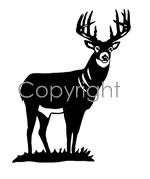 Full Body Buck! Decal