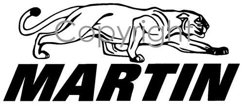 Martin Archery Logo Decal