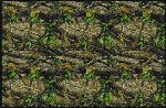 Realtree Hardwoods Green Solid Camo Area Rug