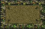 Realtree Hardwoods Green Solid Center Area Rug