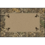 Realtree Timber Solid Center Area Rug