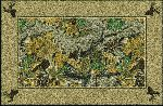 Realtree Advantage Solid Border Area Rug