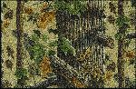 Realtree X-tra Brown Solid Camo Area Rug