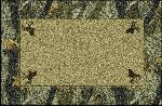 Realtree Hardwoods Solid Center Area Rug