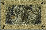 Realtree Hardwoods Solid Border Area Rug