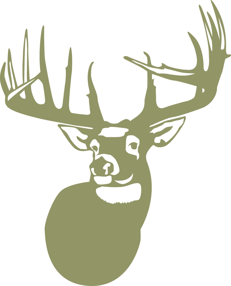 The legend whitetail deer wall decal for Deer wall decals