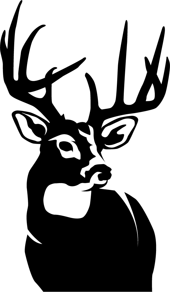 Perfect 10 Whitetail Deer Wall Decal