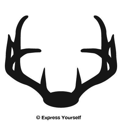 Nice Rack 4 Deer Decal