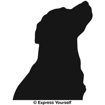 lab dog head silhouette Cartoon Shark Clip Art Cartoon Shark