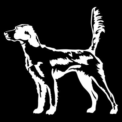 List Of Car Brands >> English Setter in the Field Hunting Dog Decal