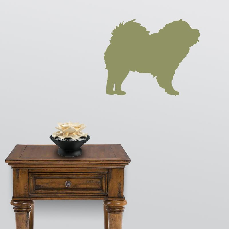Chow Dog Decal