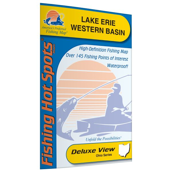 Michigan ohio ontario erie lake western basin lake for Lake erie perch fishing hot spots