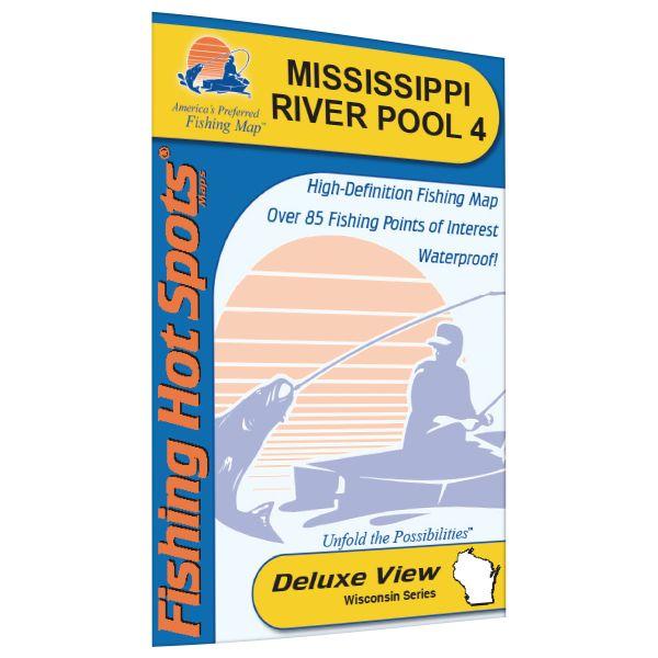 Minnesota wisconsin mississippi river pool 4 lake for Pool 4 mississippi river fishing report
