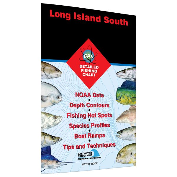 New york long island south jamaica bay to great south bay for Fishing hot spots maps